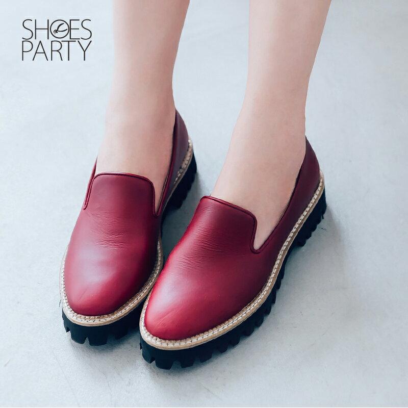 【C2-17907L】真皮個性厚底歐貝拉_Shoes Party 3