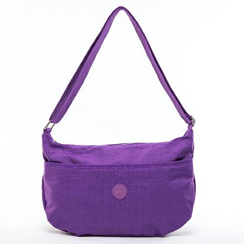 【COUNT DUCK】美系悠活輕量百搭實用款側背包-CD-008-紫色