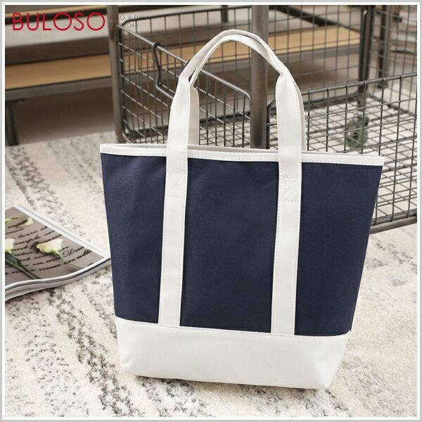 《不囉唆》藍白拼接防水提袋購物袋環保袋購物袋防水(不挑色款)【A427650】