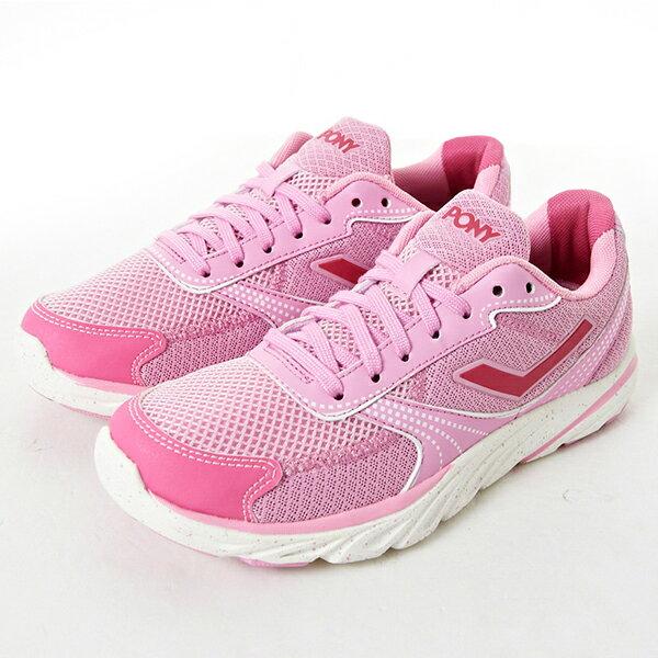 《限時特價799元》Shoestw【61W1ST67PK】PONY 慢跑鞋 網布 透氣 粉紅 女生 0