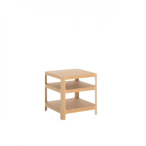 【MUKU工房】 北海道 旭川 家具 MOBEL TOKO 單板 SORAHE邊桌 (原木  /  實木) 2