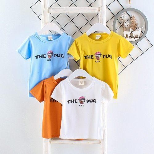 短袖上衣嬰幼兒短袖T恤寶寶童裝UG00417好娃娃