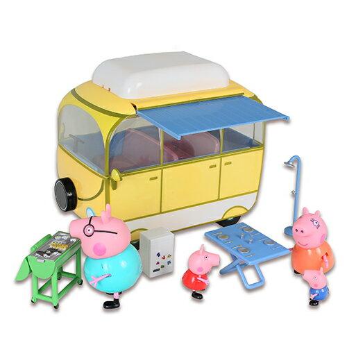 粉紅豬小妹 超大露營車 Peppa Pig  YOYO TV卡通 英國知名卡通人物  伯寶