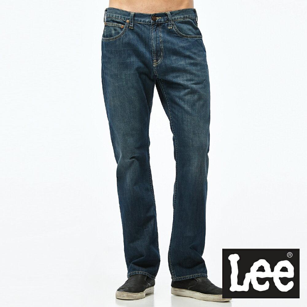 Lee 牛仔褲 743 中腰舒適直筒牛仔褲-男款