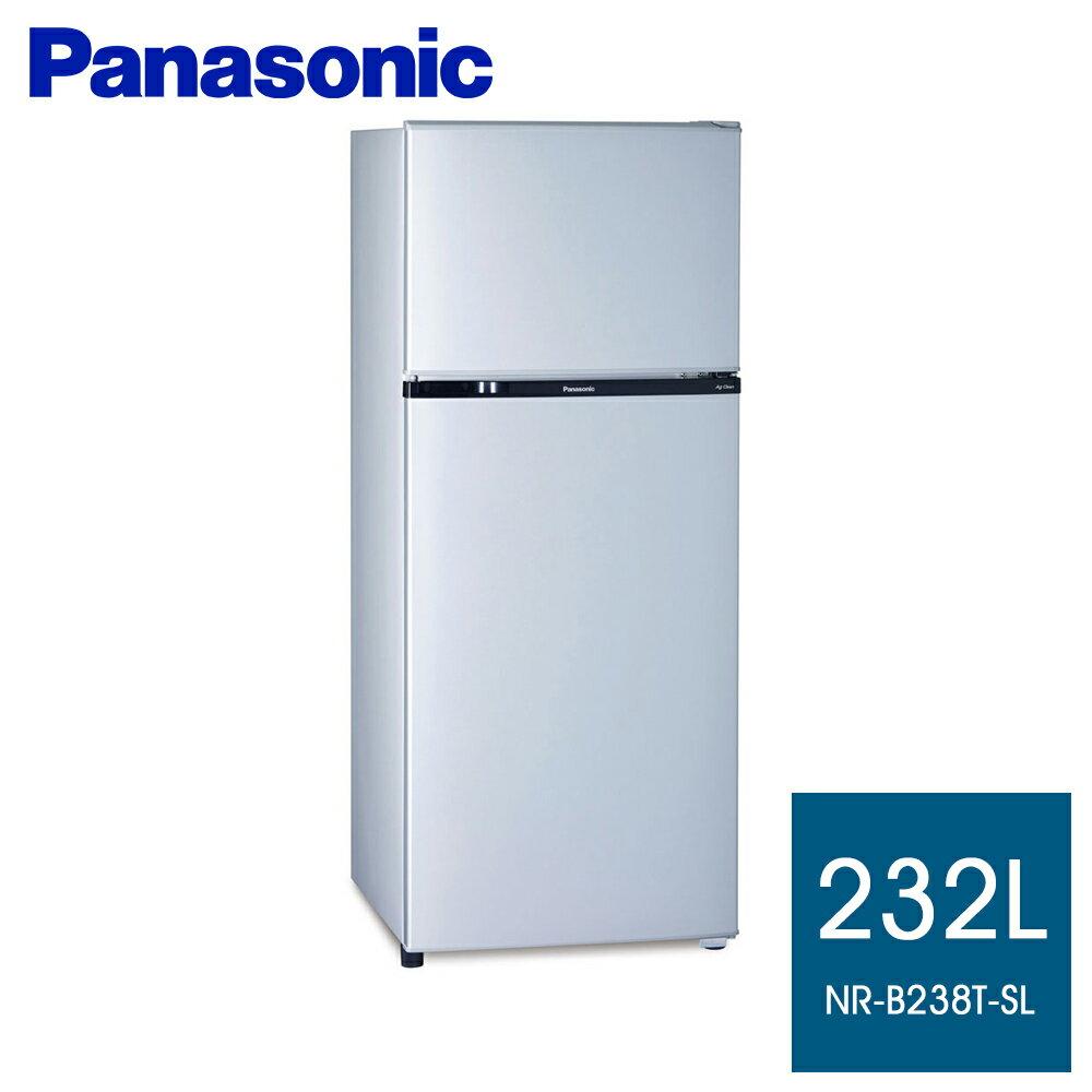 全館回饋10%樂天點數★國際牌 232公升雙門冰箱【NR-B238T-SL】