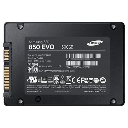 Samsung 850 EVO 500GB 2.5-Inch SATA III Internal SSD 3