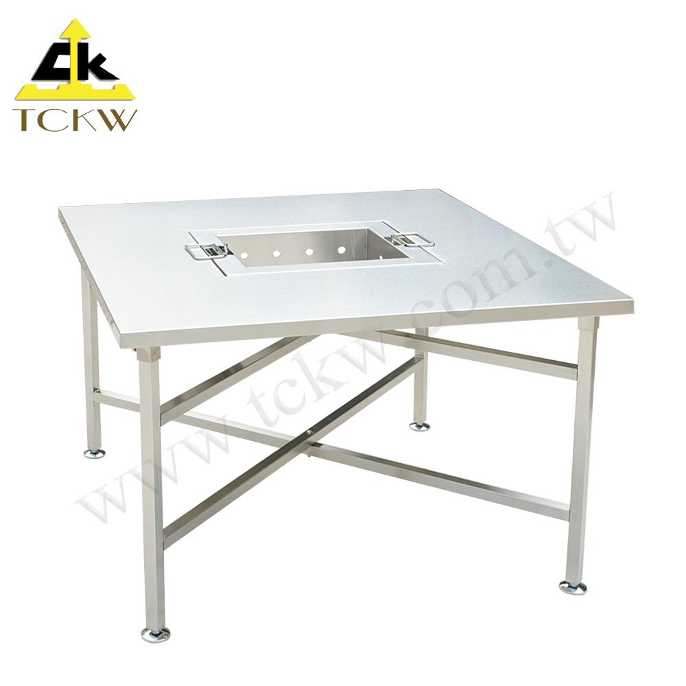 耐用五金用品不鏽鋼烤肉桌(6人份) TW-38S中秋節 耐用架 架子 火烤 燒烤 烤肉  桌子