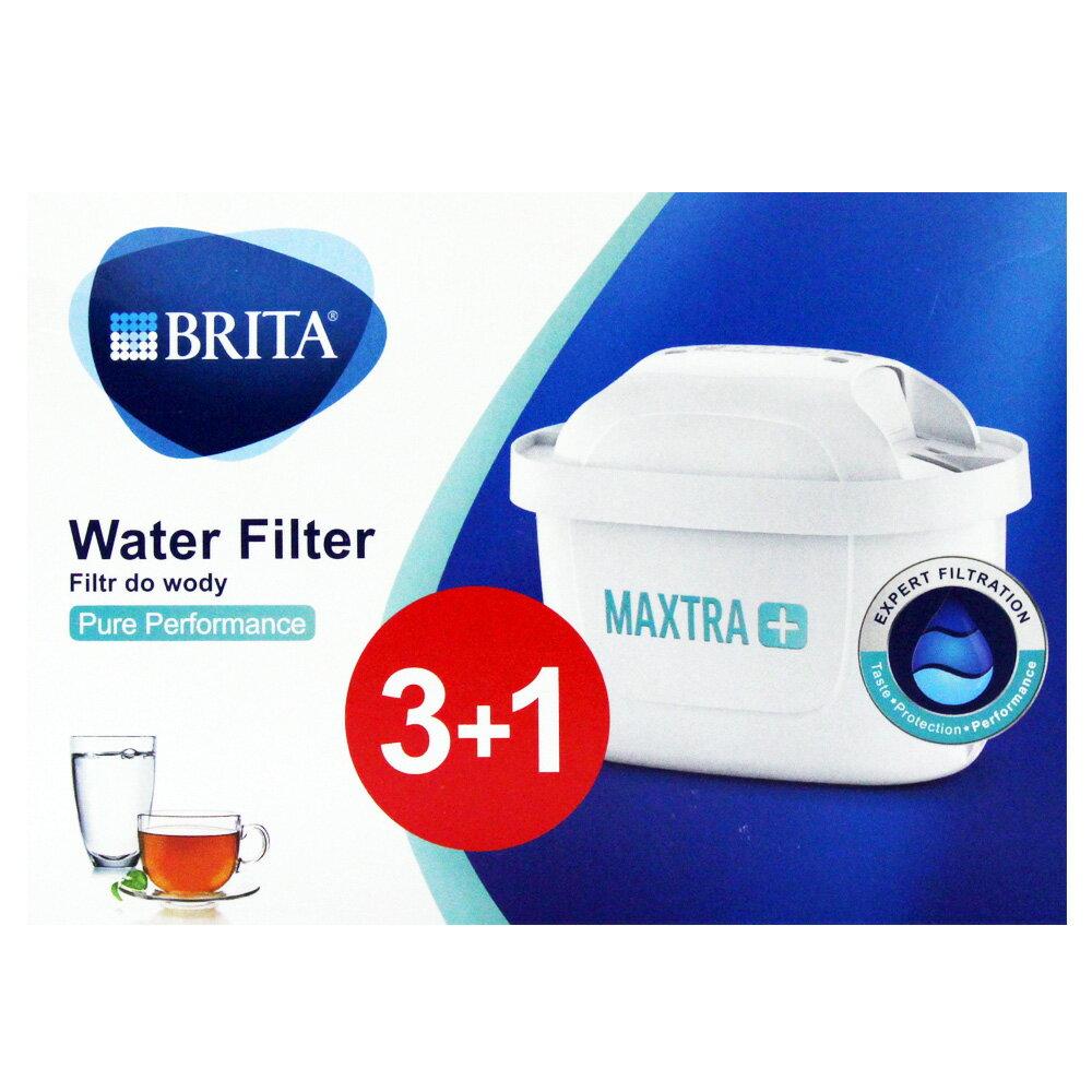 BRITA MAXTRA+ 濾水壺專用濾芯濾心 (一盒4顆)