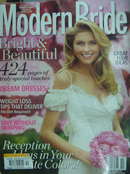 【書寶二手書T4/雜誌期刊_XAR】Modern bride_Dream Dresses等_2007/10~11月