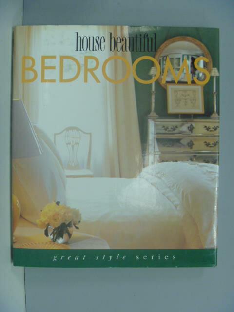 【書寶二手書T1/設計_ZDT】House beautiful bedrooms_Cara Greenberg