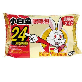 小白兔暖暖包24小時10入 手拿