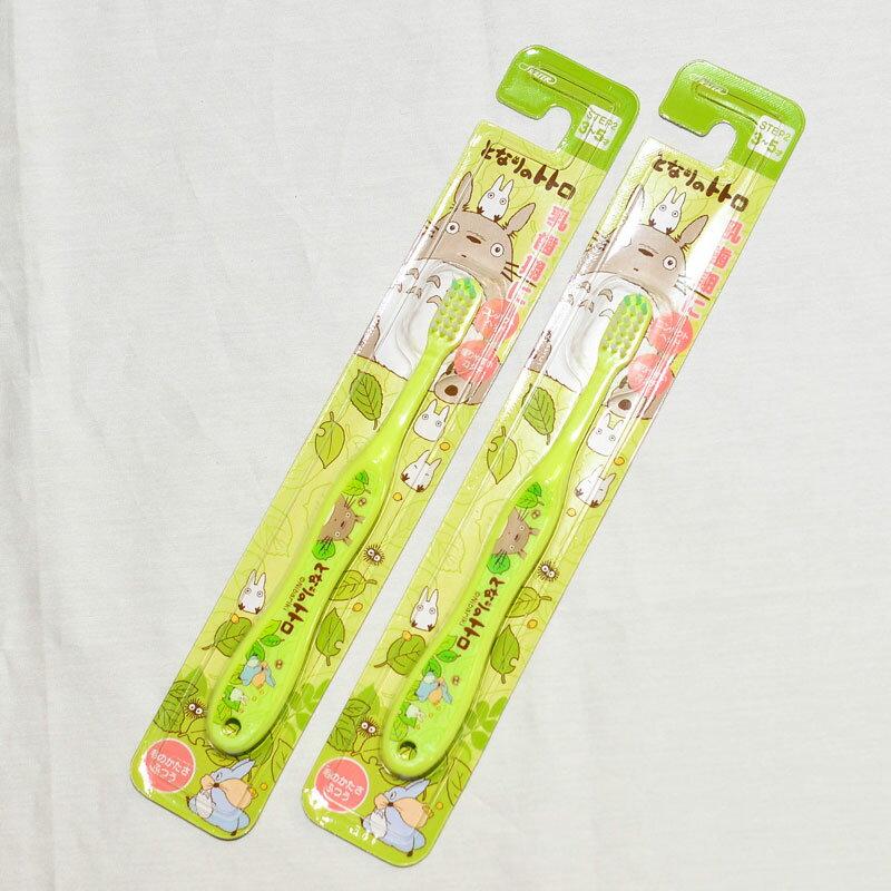TOTORO 龍貓 牙刷1支 3-5歲 乳齒期 日本帶回正版商品 宮崎駿