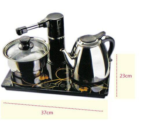 威利家電:【威利家電】台熱牌光觸控數位面板電茶壺快煮壺泡茶組T-6369T-6558