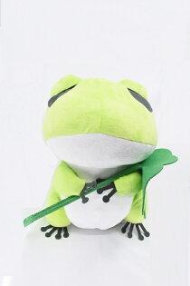 X射線【C345609】12吋優遊青蛙,絨毛填充玩偶玩具公仔抱枕靠枕娃娃