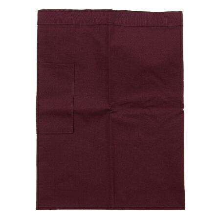 防污圍裙-半身短 紅