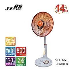 【現貨】NORTHERN 北方 14寸 立式電暖器 碳素燈管 SH1461