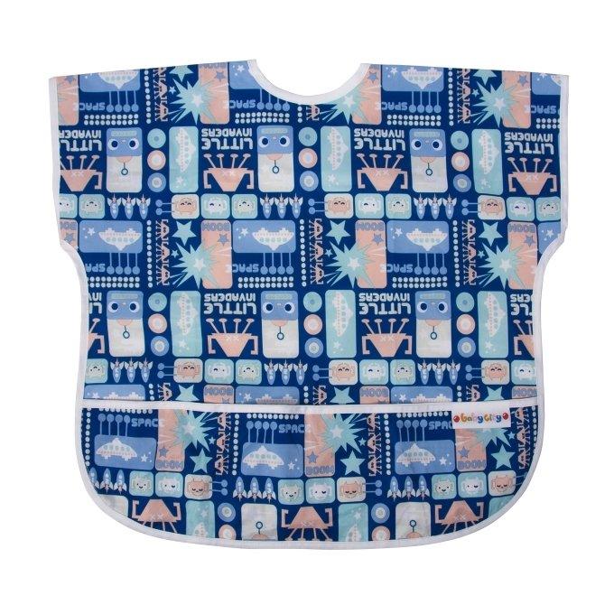 【任二入95折】Baby City娃娃城 - 防水短袖圍兜 (1-3歲) 1