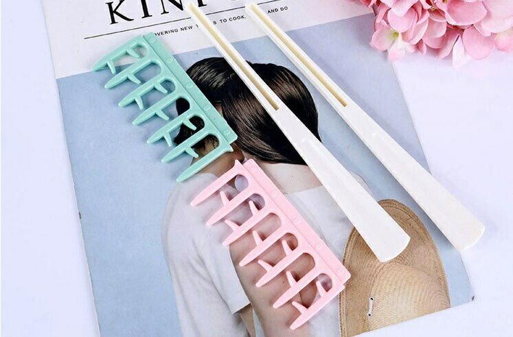 PS Mall 刮蓬造型梳子【H342】 5