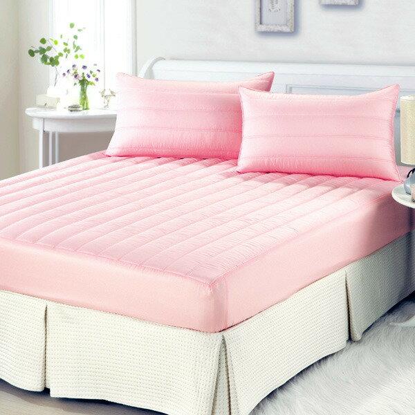粉彩防潑水單人鋪棉床包兩件組✤朵拉伊露✤