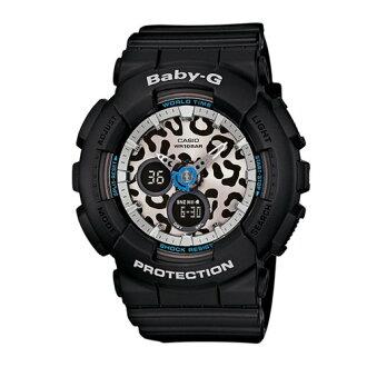 CASIO BABY-G/流行萬變百搭豹紋腕錶/BA-120LP-1ADR
