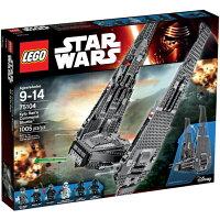 樂高積木LEGO《 LT75104 》STAR WARS™ 星際大戰系列 - Kylo Ren's Command Shuttle™