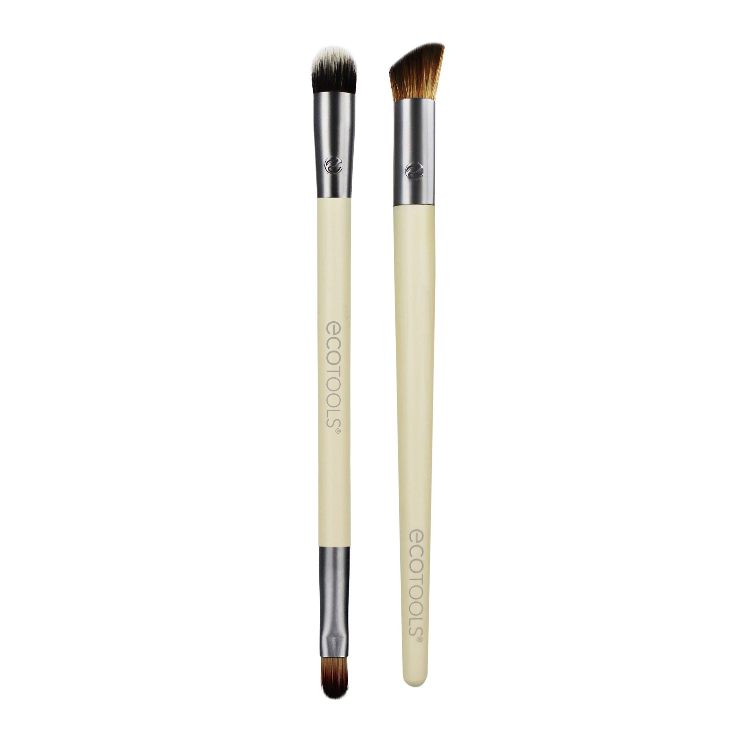ecotools-1630終極遮瑕三重奏/官網新款/網紅手殘/粉底刷,蜜粉刷,腮紅刷,修容刷,輪廓刷,打亮刷,鼻影刷,眼影刷