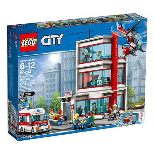 樂高積木LEGO《LT60204》2018年CITY城市系列-城市醫院