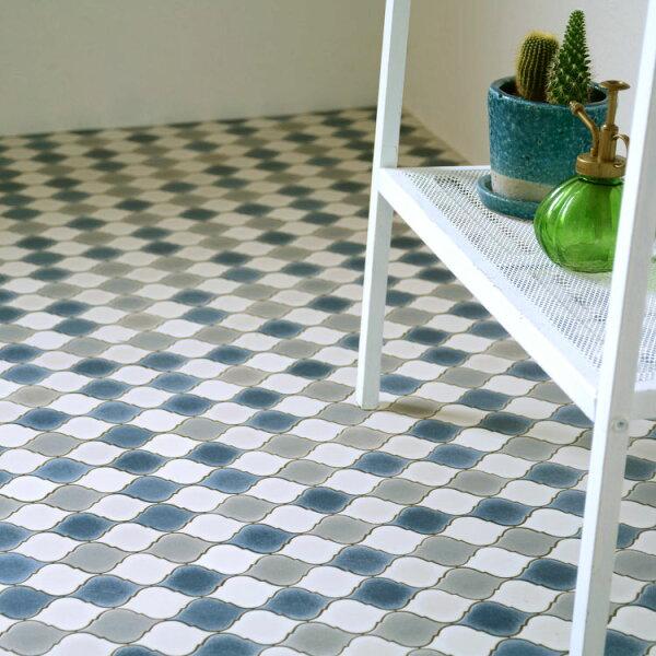 摩洛哥風格家用PVC地板革卷材SHM-1125
