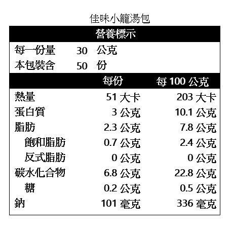 【小可生鮮】佳味小籠湯包 (50入/包)  一口吃 蒸/煎/水煮 湯汁飽滿
