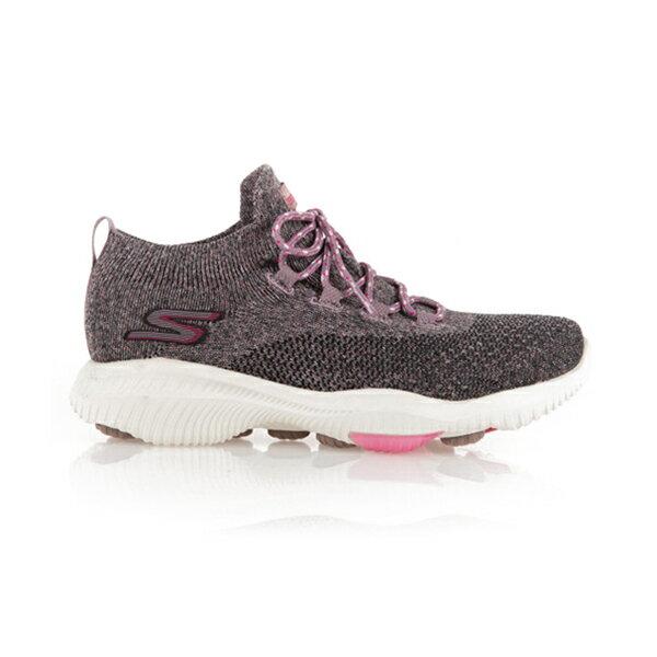 【SKECHERS】GO WALK REVOLUTION ULTRA 運動鞋 健走鞋 針織 黑粉 女鞋-15670BKPK