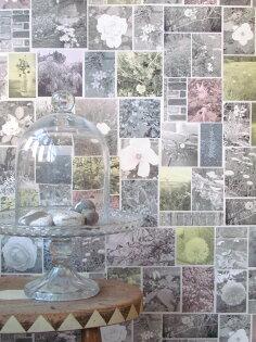 壁紙屋本舖:英國壁紙花草紋YSDLONDONWP-OTBP-01