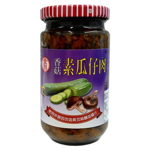 金蘭 素瓜仔肉 370g (12入)/箱【康鄰超市】