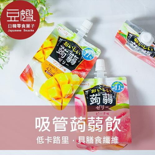 【豆嫂】日本零食 Tarami 蒟蒻果凍飲(芒果/蘋果/白桃/紫葡萄/青葡萄)