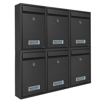 信箱 信報箱總經理郵筒收件箱家用掛壁報室外防水帶鎖歐式意見箱『TZ1000』 2