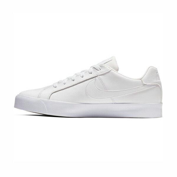 【NIKE】NIKE COURT ROYALE AC 休閒鞋 運動鞋 全白 男鞋 -BQ4222101