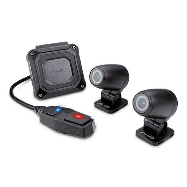 Mio MiVue M760D 星光夜視雙鏡頭 分離式GPS機車行車記錄器 (內附 32G 記憶卡)
