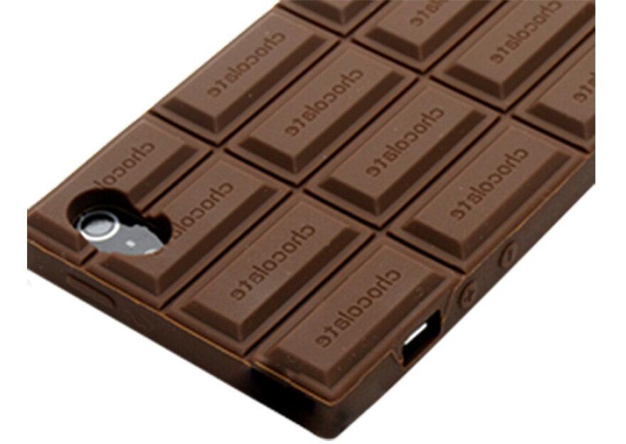【限時下殺】不能吃的濃郁巧克力卡通手機殼殼矽膠美味軟殼/iPhone 6/Plus i6/保護後蓋/手機殼