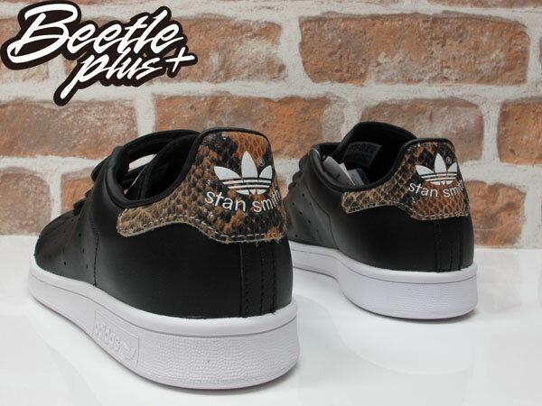 BEETLE ADIDAS ORIGINALS STAN SMITH CF W 黑白 魔鬼氈 蛇紋 女鞋 余文樂 S81390 2
