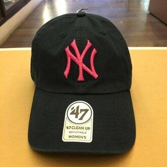 BEETLE 47 BRAND 老帽 紐約 洋基 NEW YORK YANKEES DAD HAT MLB 深藍 粉紅