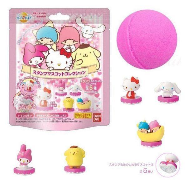 日本三麗鷗公仔碳酸沐浴球兒童泡澡沐浴球入浴劑(隨機出貨)75g