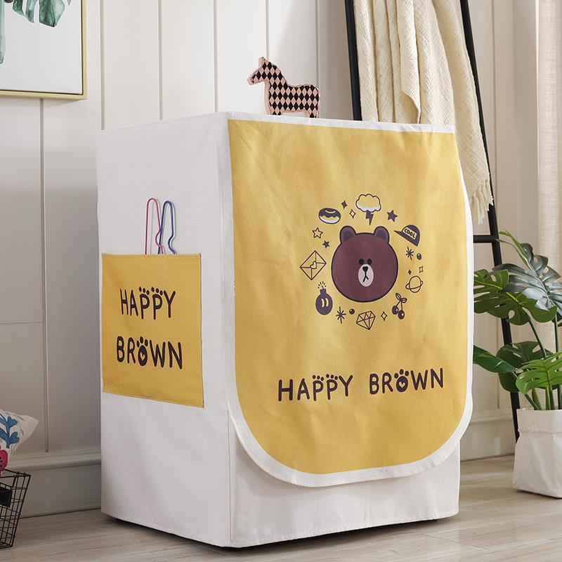 洗衣機罩防水防曬波輪上開全自動通用防塵套滾筒式海爾蓋布