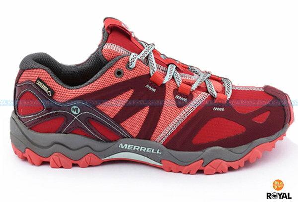 MERRELL 新竹皇家 GRASSBOW SPORT GTX 紅色 水陸兩棲 運動鞋 女款 NO.I6148