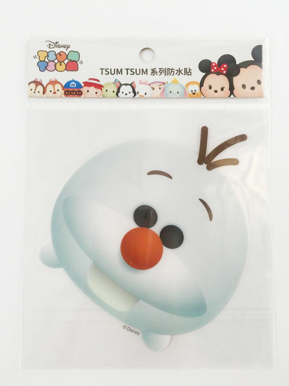 【真愛日本】16011200043  TSUM防水貼紙-雪寶   冰雪奇緣 雪人 迪士尼 裝飾貼紙 PVC 貼紙