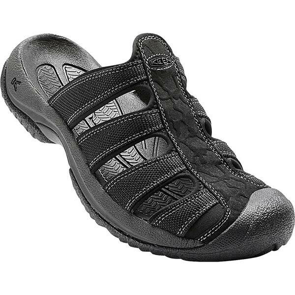 《台南悠活運動家》KEENARUBA男護趾拖鞋黑1016792