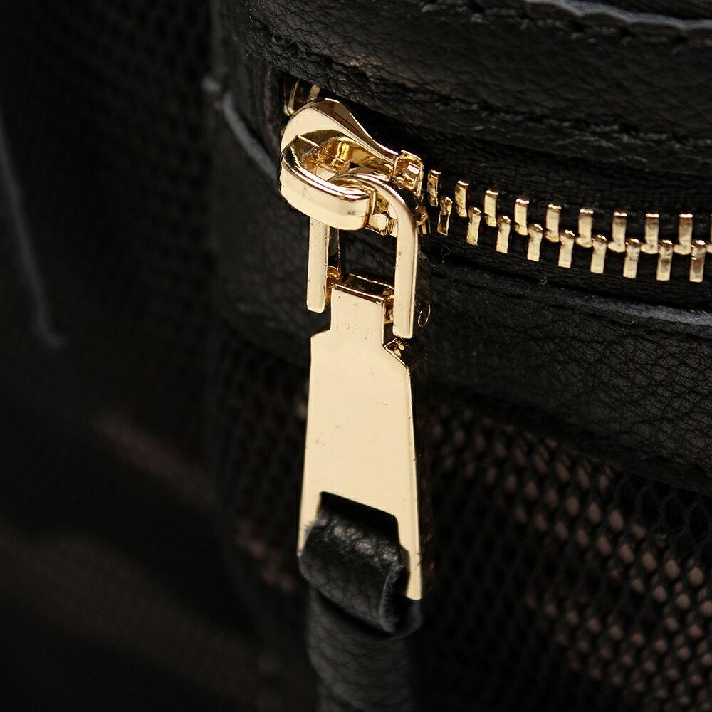 【BEIBAOBAO】韓版迷彩網布配真皮後背包(迷彩紋) 7