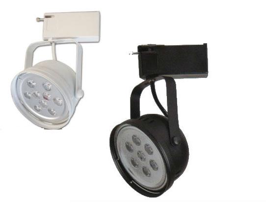 投射燈★軌道式投射燈 LED 7W全電壓 白光 黃光★永旭照明ks-1264sa-(b)-jrv-7WD/L