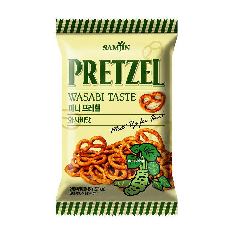 韓國Samjin三進 迷你蝴蝶餅 (芥末口味)