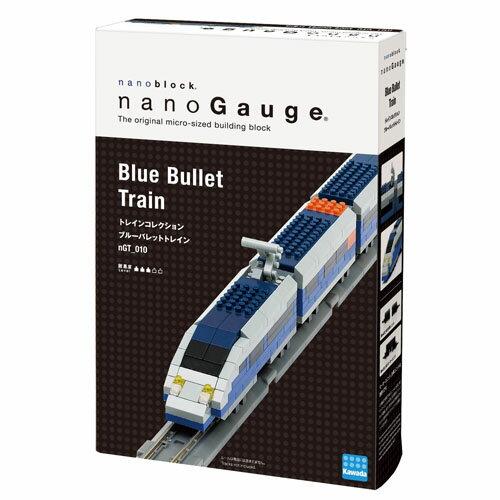~ Nano Block 迷你積木 ~~ 列車收藏築系列 ~n GT_010 藍色子彈列車