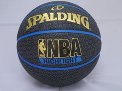 斯伯丁籃球SPALDING《HIGHLIGHT 系列黑藍金色【曉風】