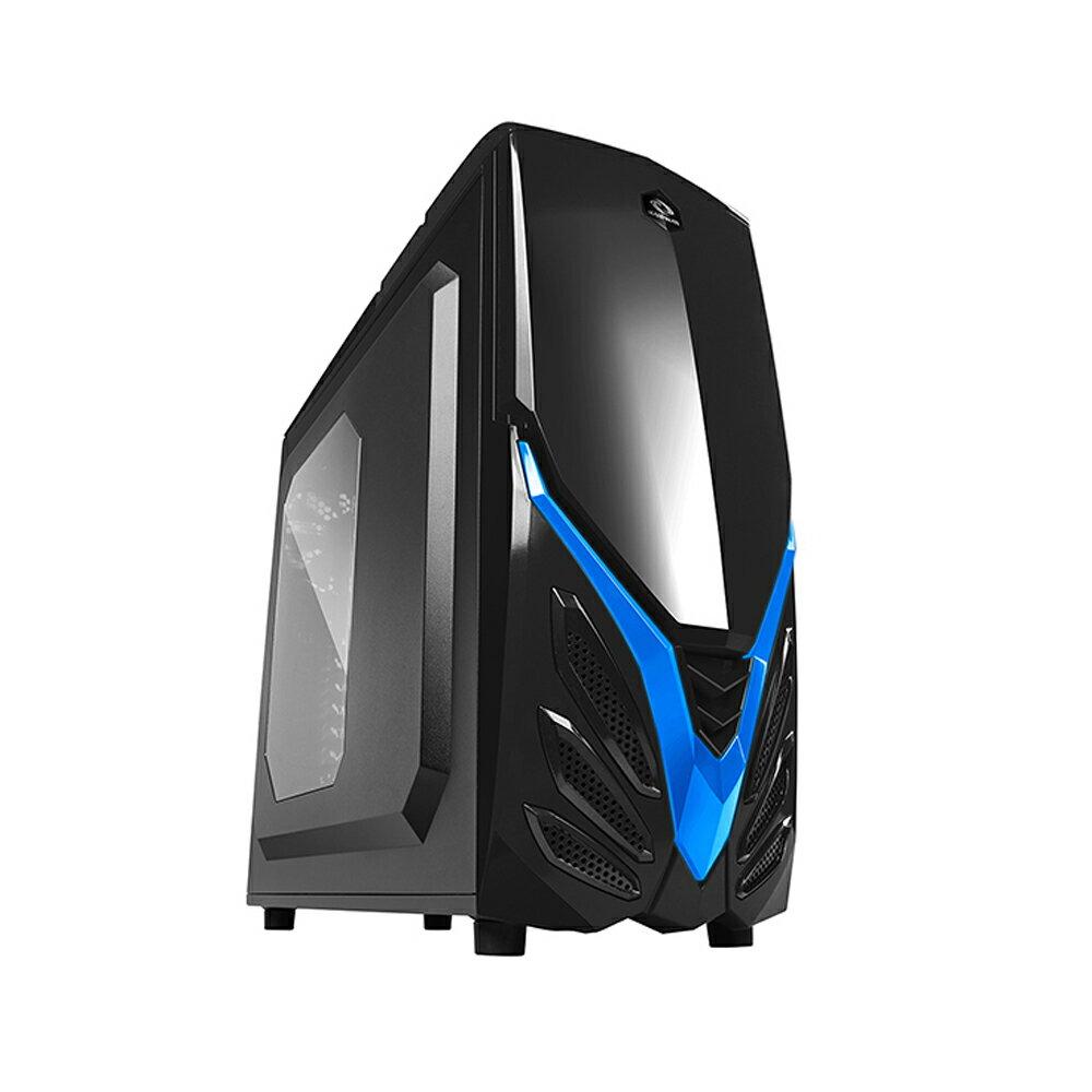 【迪特軍3C】VIPER II 黑藍 電腦機殼 電競 支援 390mm 長的顯示卡尺寸
